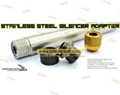 UAC Stainless Steel Silencer Adapter